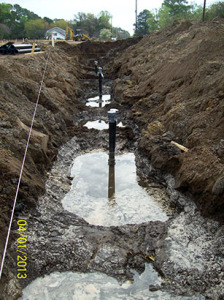 Harborville Trench Water